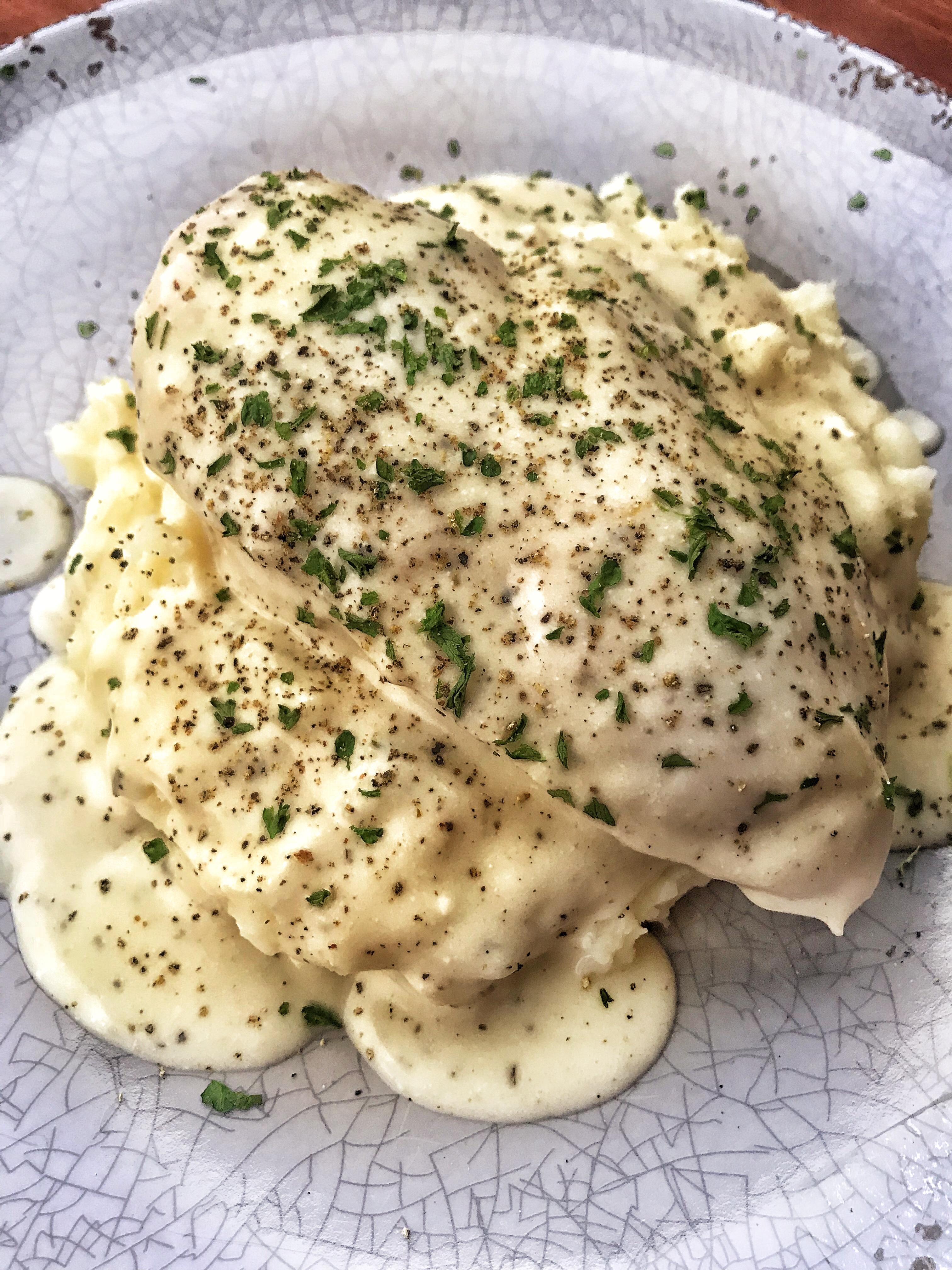 Chicken In Lemon Cream Sauce